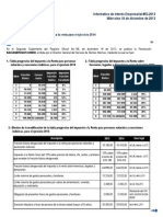FIDES - TIPS 53-2013 - Tabla IR Personas Naturales 2014