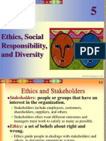 Chpt05Ethics, Social Responsibility, and Diversity