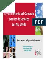 LeyDeFomentoDelComercioExteriorDeServicios