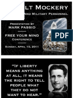 Mark Passio - Occult Mockery of Police and Military