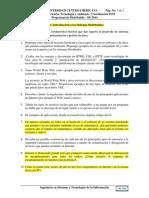 Guía de Ejercicios #1_Introducción a La Programación Ditribuida (PD-IIC2014)