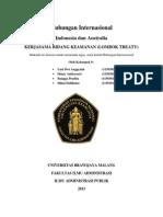 Kerjasama Bidang Keamanan Lombok Treaty