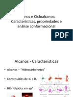Orgânica - Alcanos e Cicloalcanos