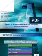 Presentacion Final Evaluacion Del Desempeño
