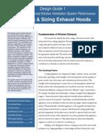 Commercial Kitchen Hood Design Guide 1 031504
