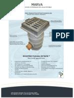 Registro Pluvial Octafix