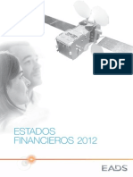 EADS Estados Financieros 2012