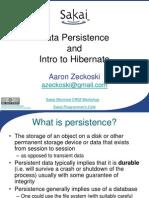 Persistence Hibernate