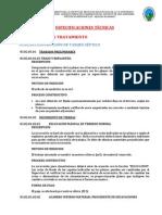 5.0 Especificaciones Técnicas Pozo Séptico y Pozo Percolador1