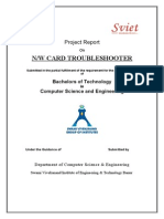 JAVA Project Report--Network Card Troubleshooter