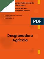 Maquinaria Agricola Desgranadora
