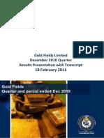 GF_Q4F2010 Presentation Transcript 110218