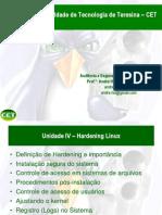 Unidade IV -Hardening Linux