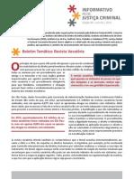 Informativo Rede Justiça Criminal - Revista Vexatória
