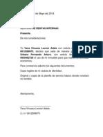 Carta de Secion