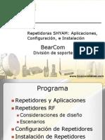 Instalación y Configuración de Repetidores RF