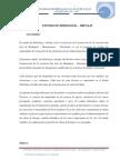 Estudio de Hidrologia y Drenaje