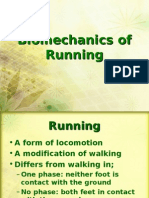 Bio Mechanics of Running