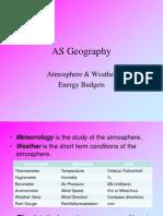Atmsophere & Weather