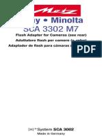 SCA 3302 M7 Sony Minolta GB