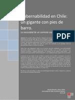 Gobernabilidad en Chile Un Gigante Con Pies de Barro