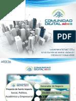 Comunidad Digital México, mayo 2013