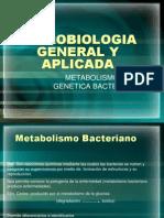Metabolismo y Genetica Bacteriana(3ra.clase)