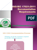 179866157 ISO IEC 17021 Documentation Requirements