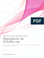 Manual BP120 Dvd LG