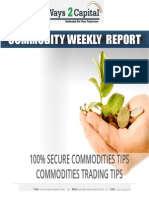 Commodity Report by Ways2Capital 02 June 2014