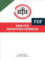 Kode Etik Kedokteran Indonesia 2012