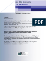 The Philippine ESL Journal