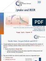 Oxygen Uptake and RER