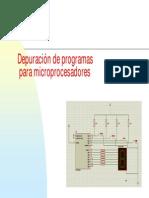 Depuracion de programas para microprocontroladores Pic
