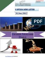 Daily Option News Letter 02 June 2014
