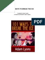 101 Ways to Break the Ice - Adam Lyons