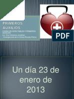 8.PRIMEROS AUXILIOS