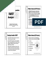 SOSTAC 1 Analisis Situasi - 2014