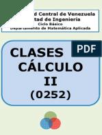Clases de Cálculo II