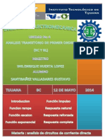 Analisis Transitorio de Primer Orden
