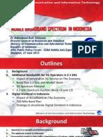 GSMA Public Policy Forum 2013 006 MCIT Dr Setiawan