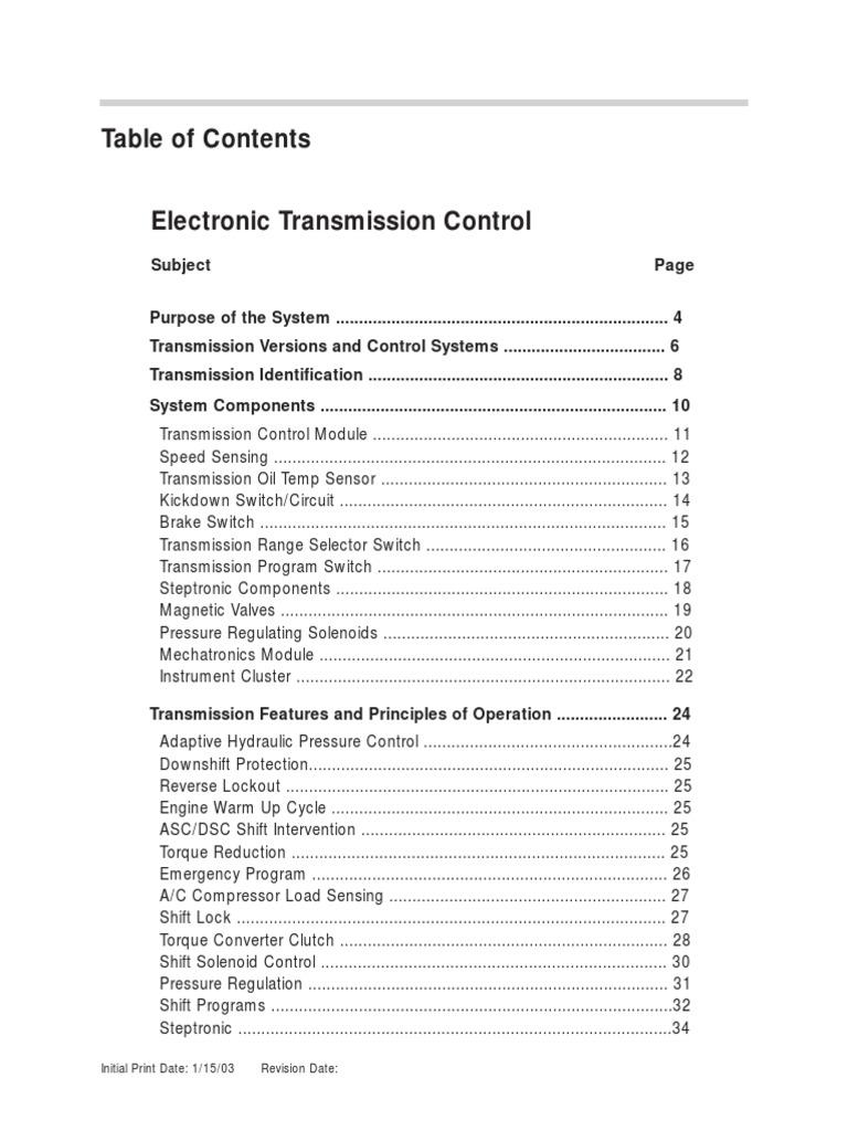Bmw A T Elecpdf Manual Transmission Automatic E46 Wiring Schematic