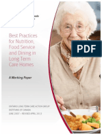 2013 Best Practices for Nutrition%2c Food Service and Dining in LTC Homes