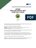 NCMail Outlook 2007 Email User Guide v1.0