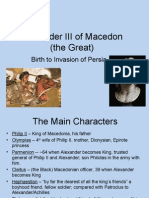 Alexander the Great Birth to Invasion