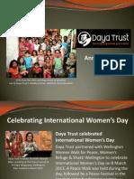 Daya Trust Annual Report 2013