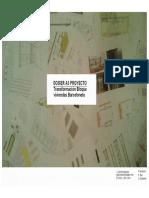 Transformación Bloque Viviendas Barceloneta - Dosier PROYECTO
