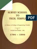 The History of CEG - 1794 - 1994