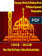Print Ucapan Idul Fitri 1434 H