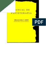 Manual Psicoterapia